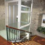 Panoramik Asansör - HomeLift - Bina içi (1 Kat)