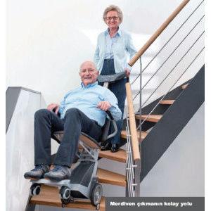 portatif merdiven inme çıkma cihazı