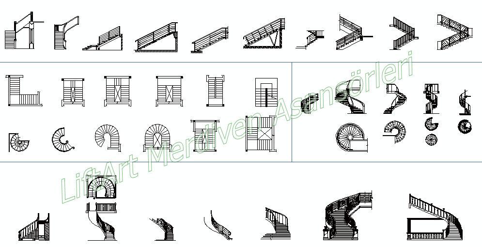 merdiven tipleri
