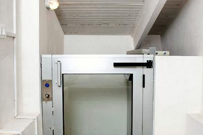 engelli asansör çeşitleri, yarım kabin asansör, yarım kabinli asansör